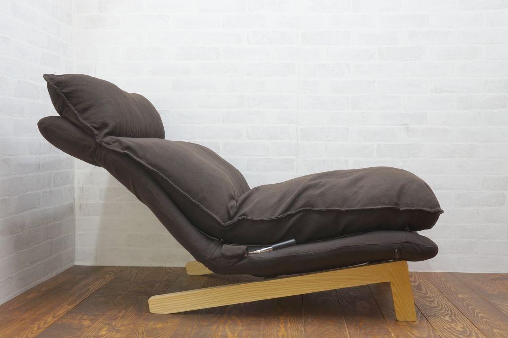 無印良品 ハイバックリクライニングソファー(1シーター)オットマン付き3