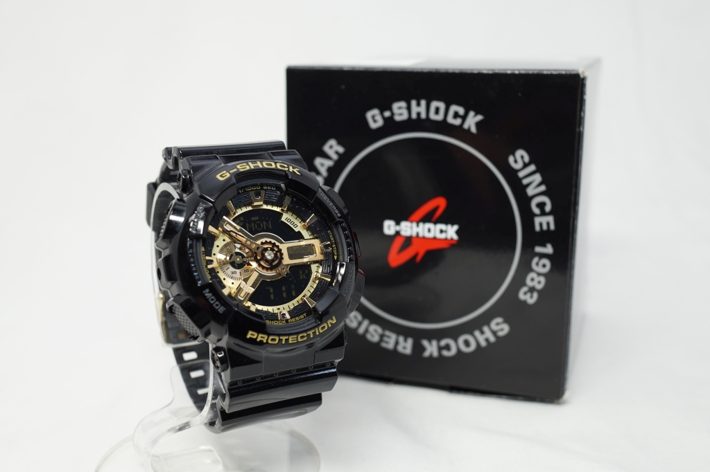G-SHOCK ブラック×ゴールド シリーズ GA-110GB-1ADR4