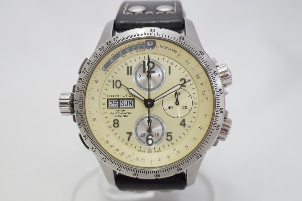 ハミルトン 腕時計 カーキXウィンド