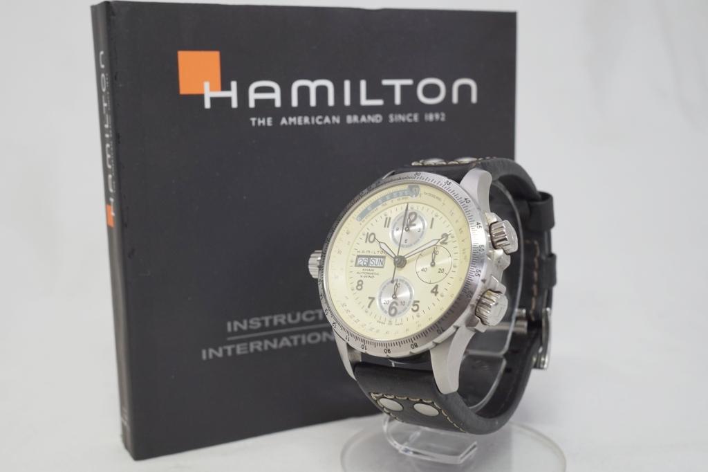 ハミルトン 腕時計 カーキXウィンド4