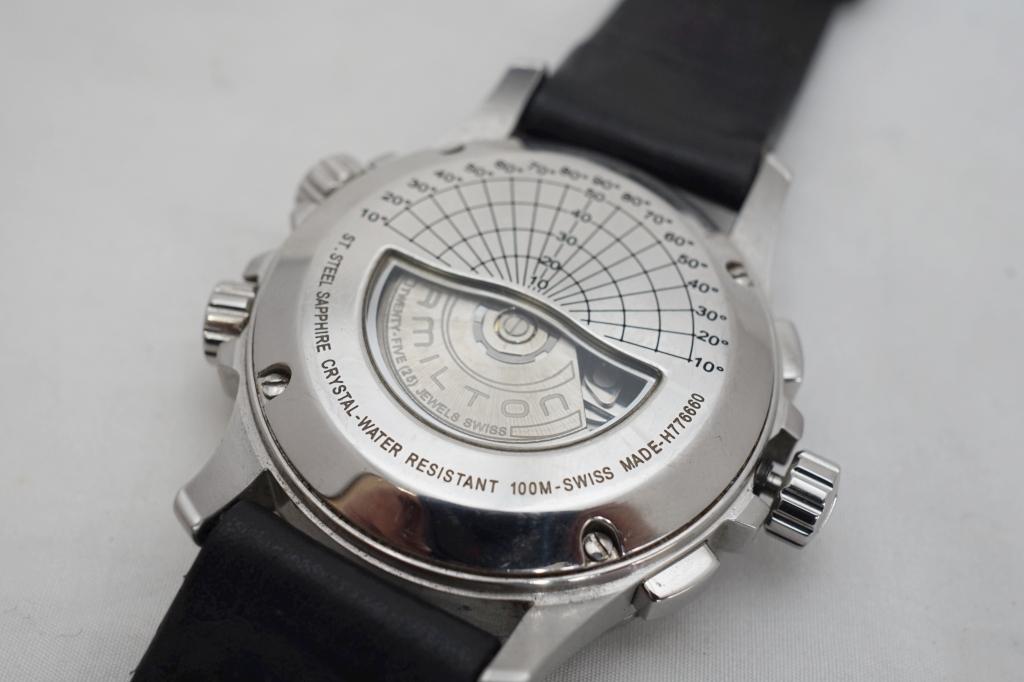 ハミルトン 腕時計 カーキXウィンド3