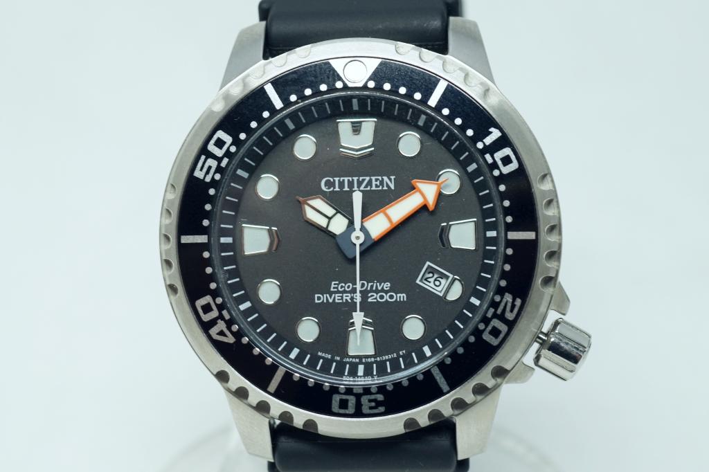 CITIZEN エコドライブ腕時計 PROMASTER BN0156-05E