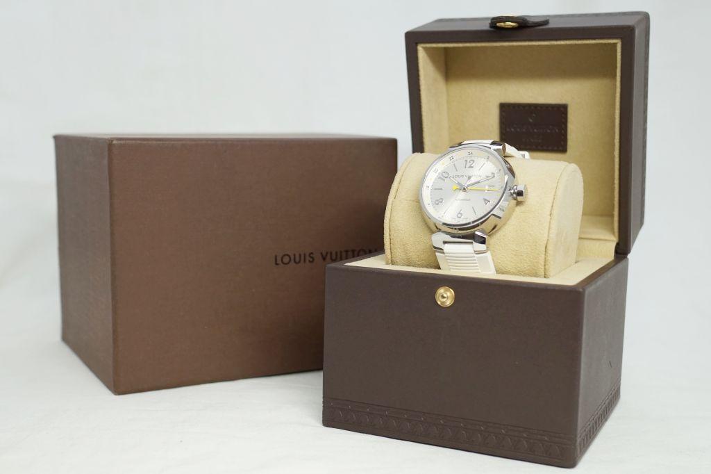 ルイ・ヴィトン 腕時計 タンブールGMT Q113M4