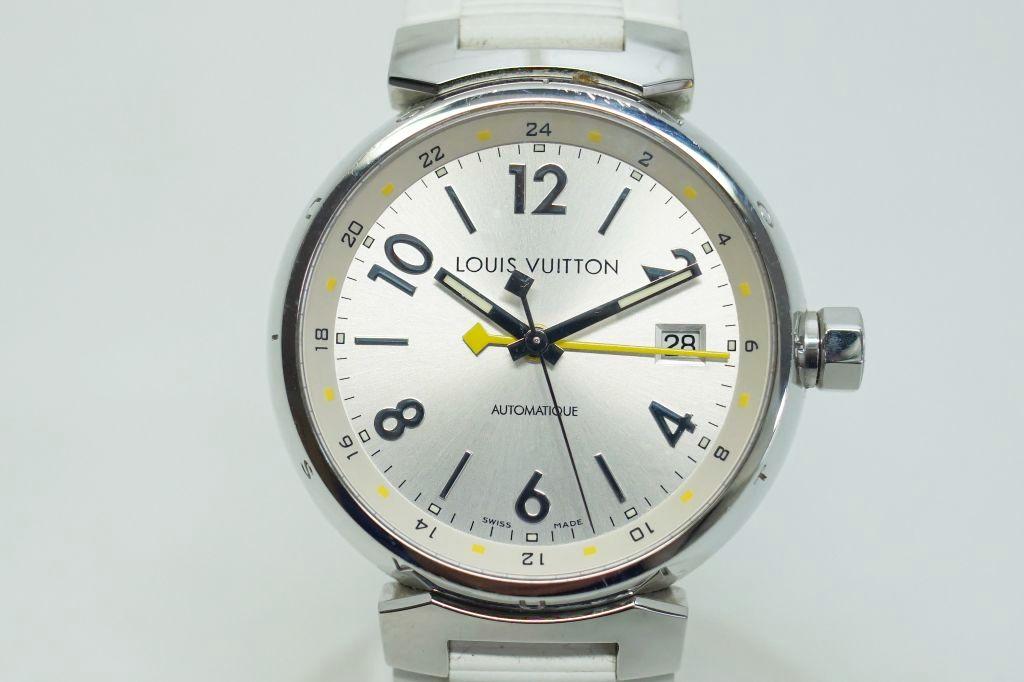 ルイ・ヴィトン 腕時計 タンブールGMT Q113M