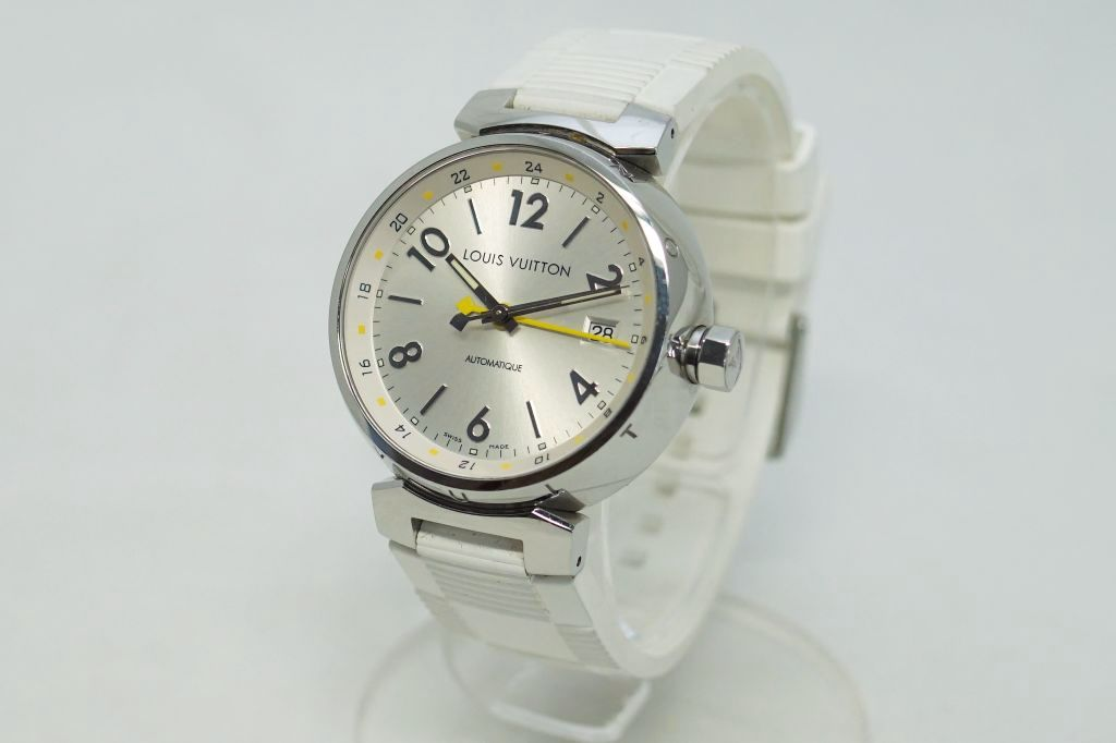 ルイ・ヴィトン 腕時計 タンブールGMT Q113M2