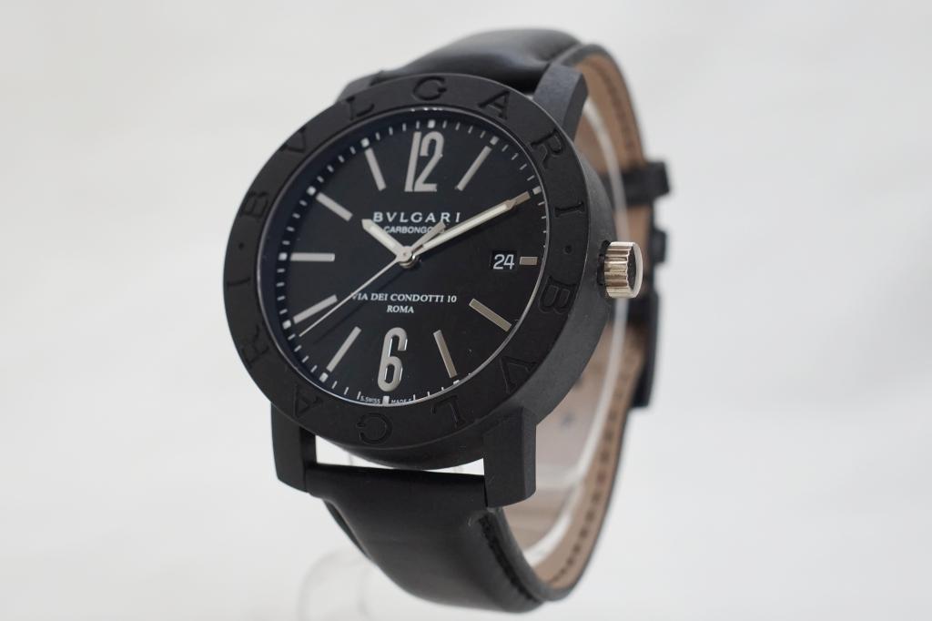 ブルガリ 腕時計 ブルガリブルガリ カーボンゴールド2