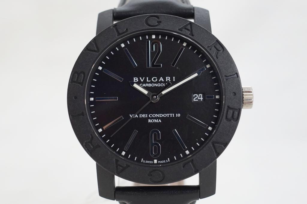 ブルガリ 腕時計 ブルガリブルガリ カーボンゴールド