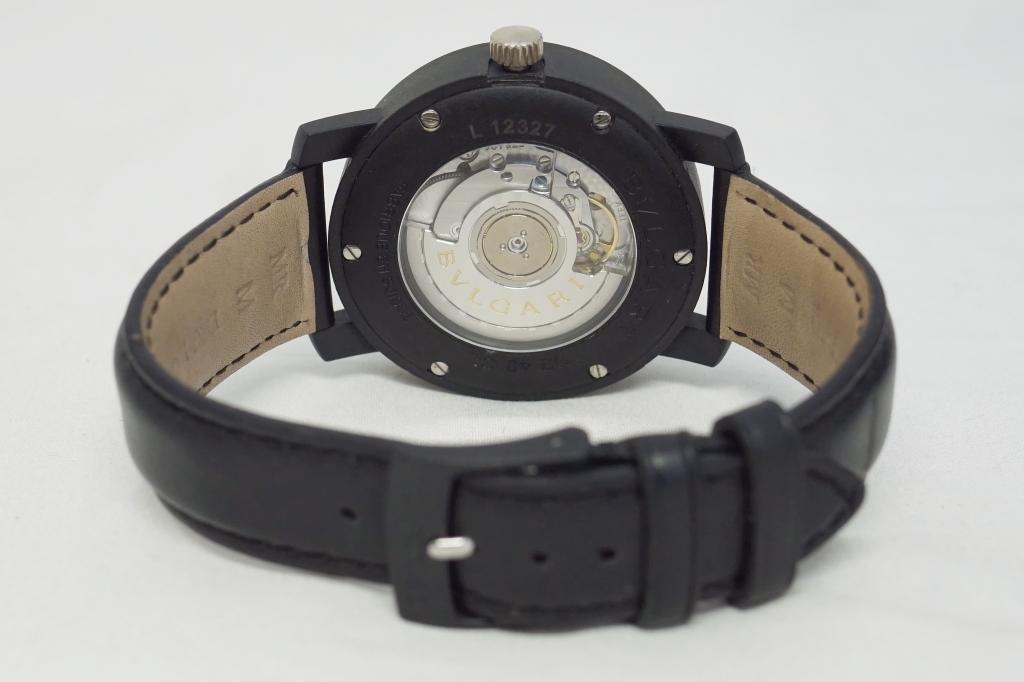 ブルガリ 腕時計 ブルガリブルガリ カーボンゴールド3