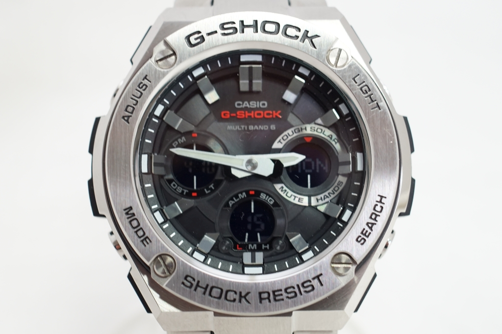 CASIO G-SHOCK 「G-STEEL」GST-W110D