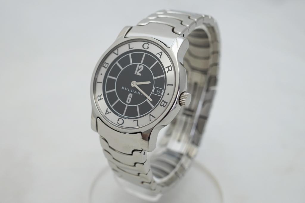 ブルガリ 腕時計 ソロテンポ ST35BSSD