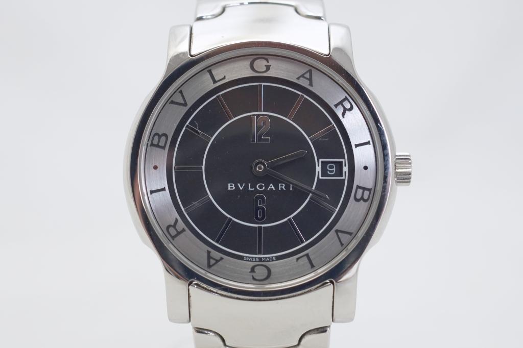 ブルガリ 腕時計 ソロテンポ ST35BSSD2