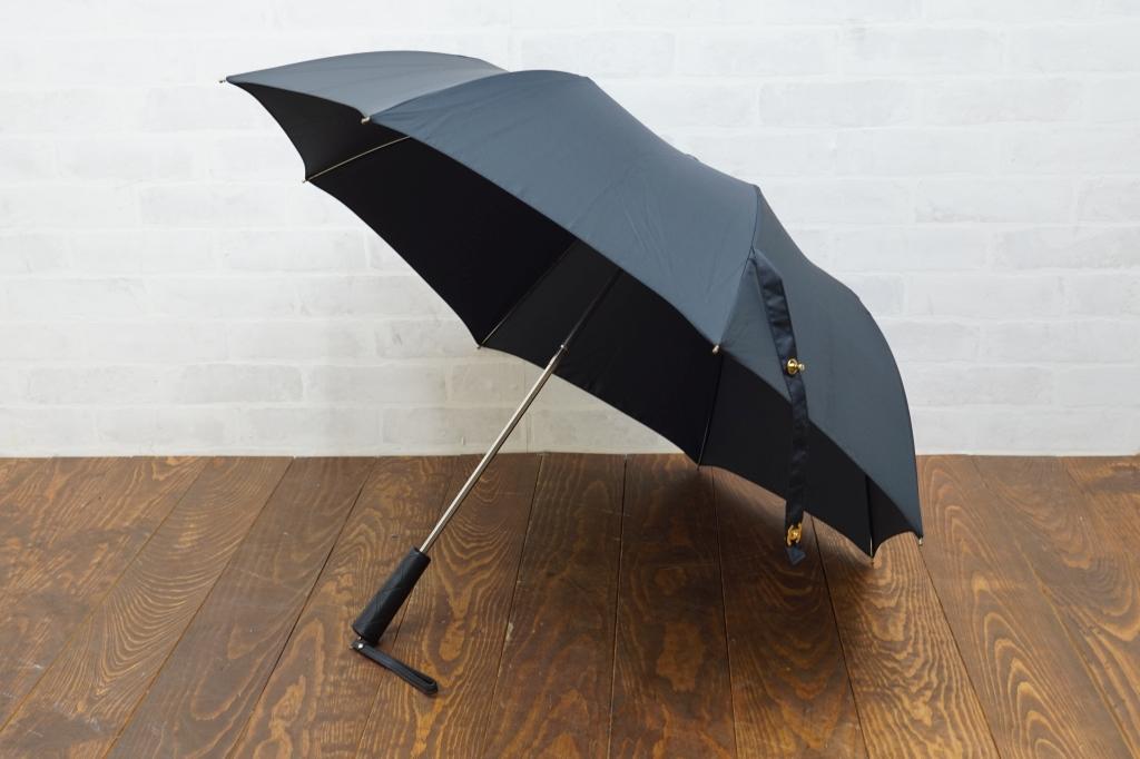 シャネル 折りたたみ傘 マトラッセケース付2