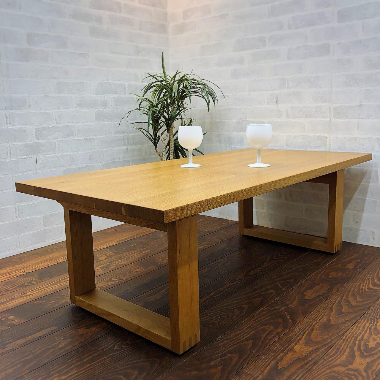 無印良品 オーク材 ローテーブル