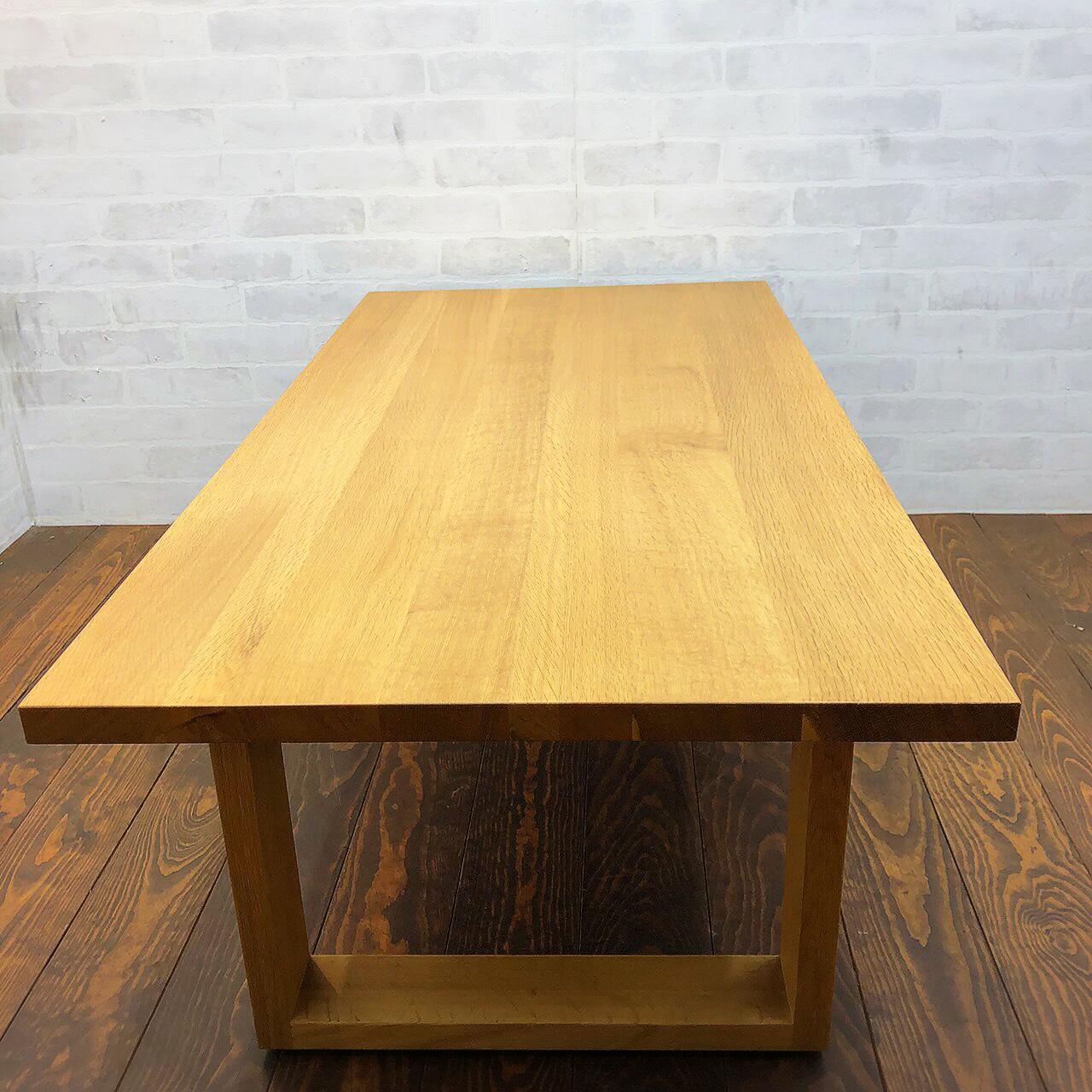 無印良品 オーク材 ローテーブル2
