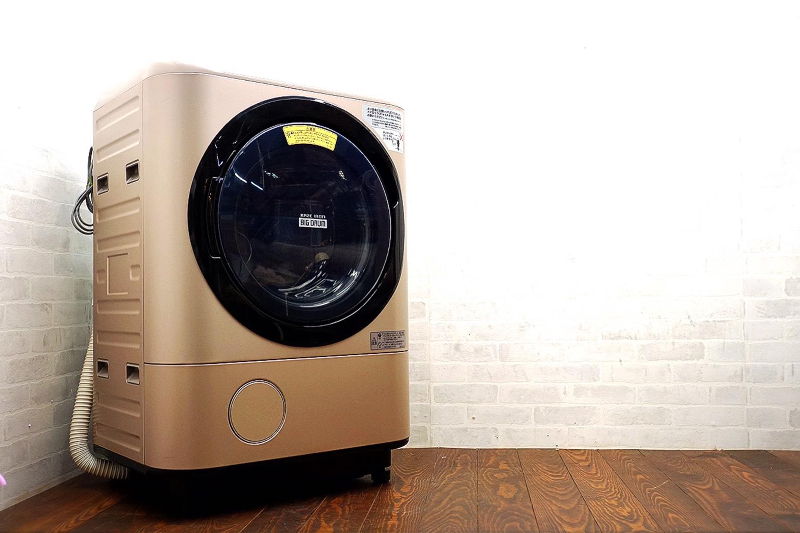 HITACHI ドラム式洗濯乾燥機  BD-NX120A 2017年製