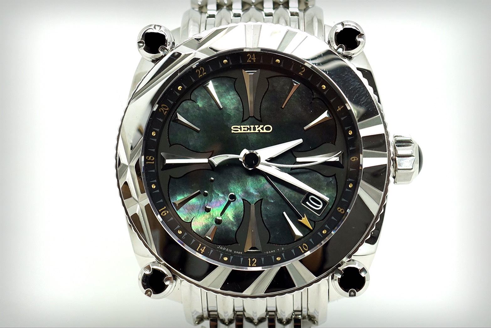 SEIKO ガランテ・GMT SBLA0672