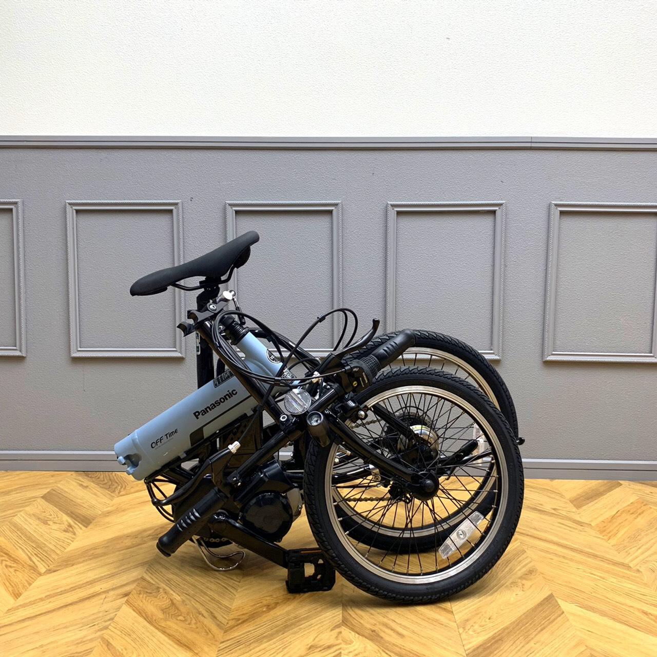 Panasonic電動アシスト折畳み自転車 OFF Timeオフタイム 2018年モデル EL-ELW072AV24
