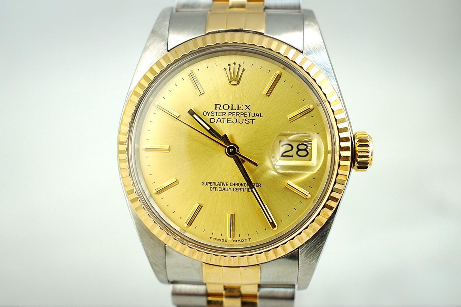 ROLEX デイトジャスト 16013 4