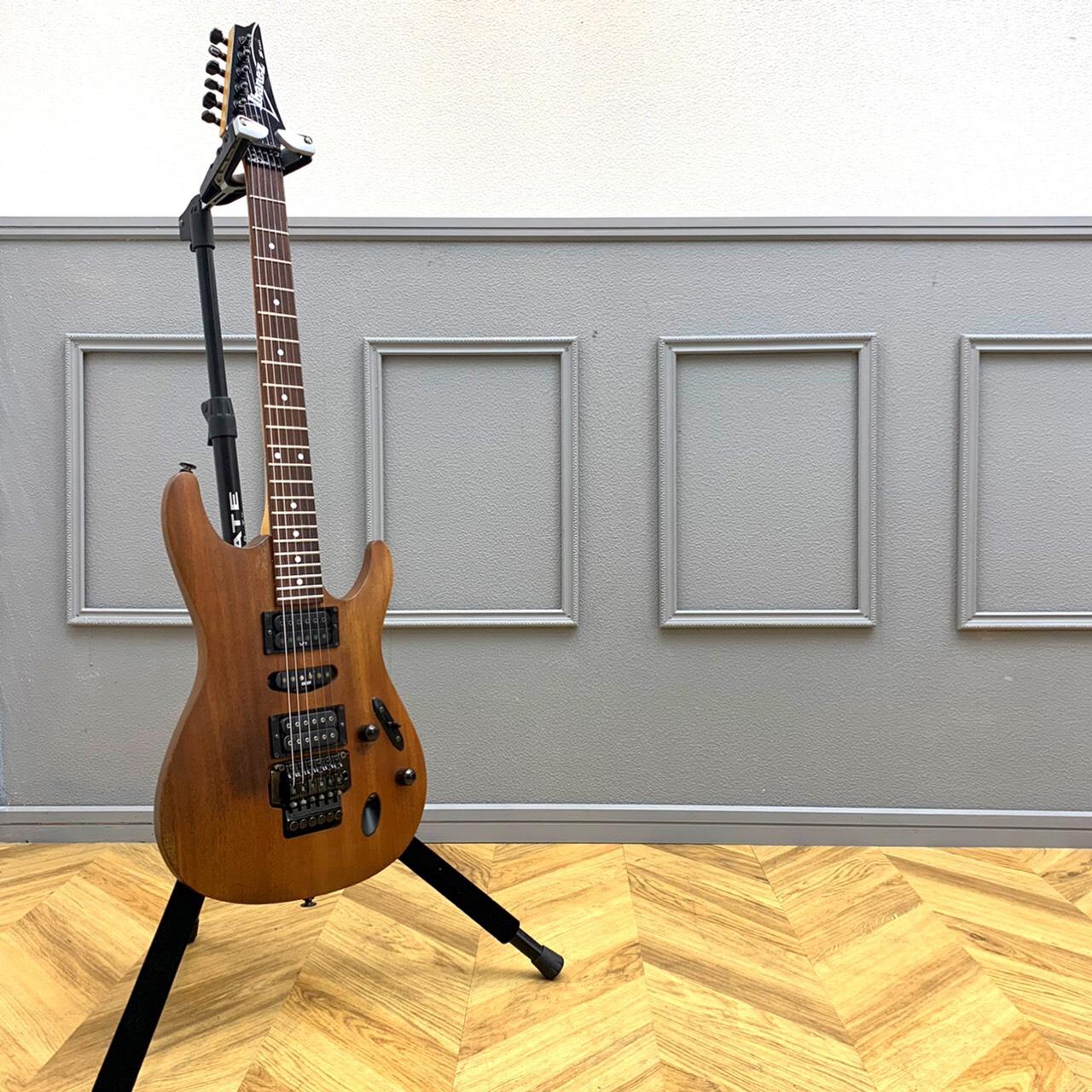 Ibanezアイバニーズ S370 エレキギター 1995年製造 国産 フジゲン オールマホガニーボディ