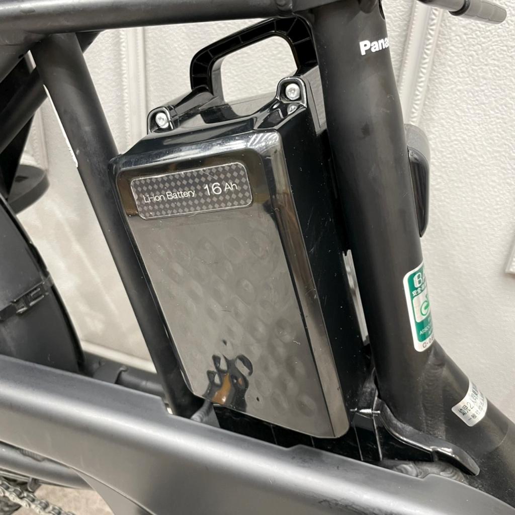 Panasonic ギュットアニーズDX 子供乗せ電動アシスト自転車3