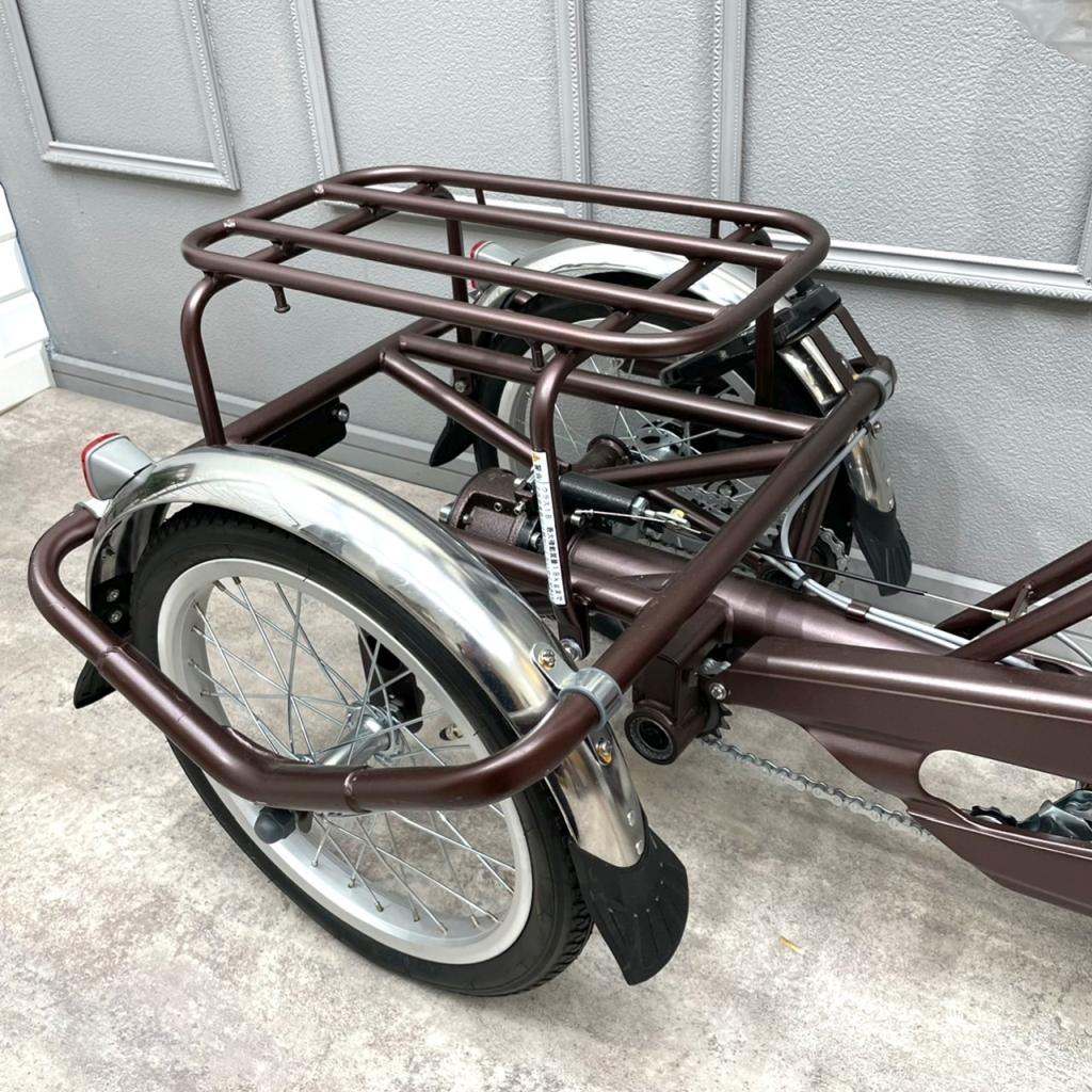 サギサカサイクル 大人用三輪自転車2